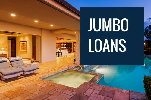 Luxury home purchased with a jumbo loan